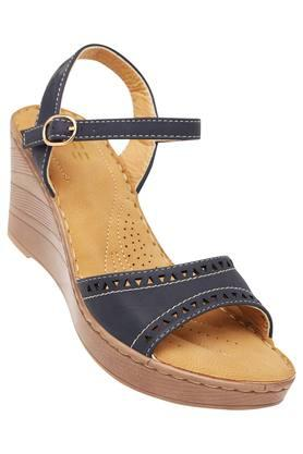 LIFE Womens Casual Wear Buckle Closure Wedges - 203346564_9308