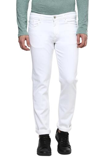 outlet for sale cheap prices first look Mens Regular Fit 5 Pockets Coated Jeans