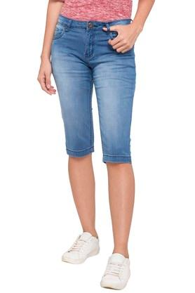 404d902f0 Buy Capris & shorts For Womens Online | Shoppers Stop
