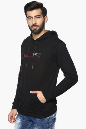 Mens Hooded Printed Sweatshirt