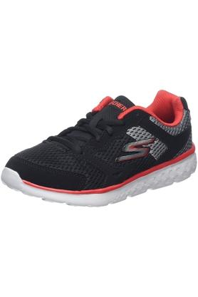 Boys Synthetic Lace Up Sports Shoes