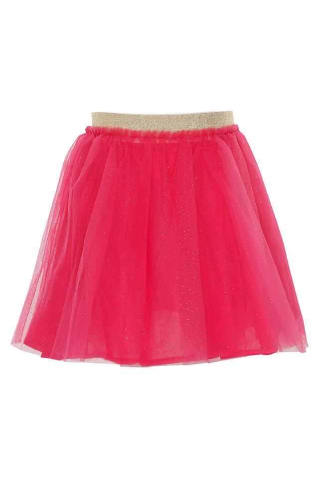 Girls Assorted Layered Skirt