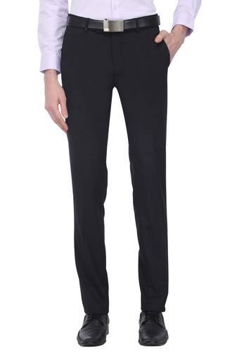 TURTLE -  NavyCasual Trousers - Main