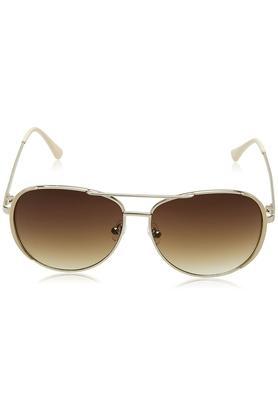 Womens Aviator UV Protected Sunglasses