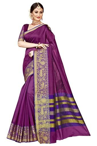 DEMARCA -  Purple Sarees - Main