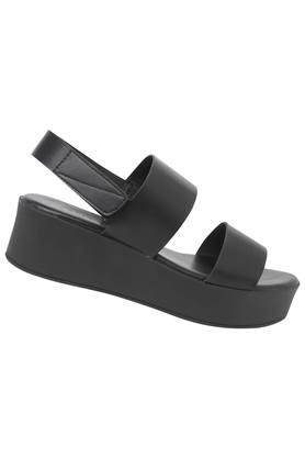Womens Casual Wear Velcro Closure Platforms