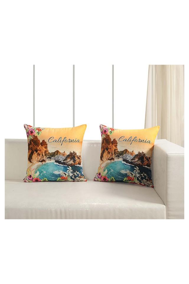 Graphic Printed Cushion Cover Set Of 2
