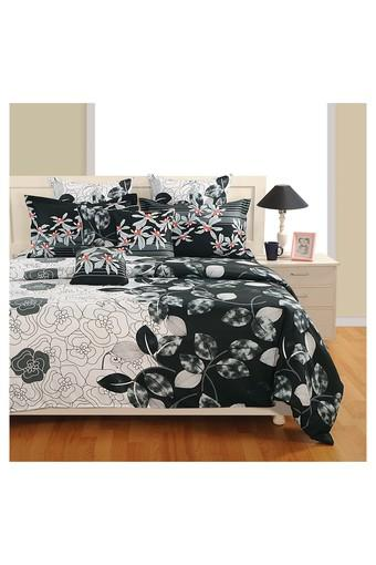 SWAYAM -  Black Bed Sheets - Main