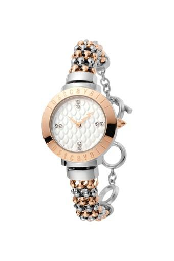 Womens Animal Collection Silver Dial Watch - JC1L048M0075