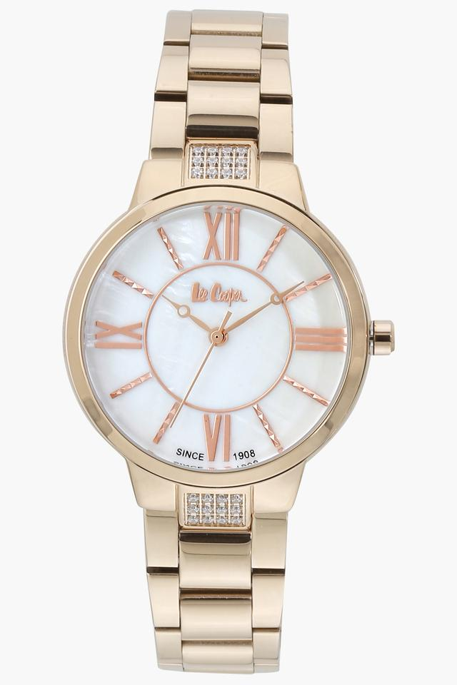 Womens Analogue Off White Dial Metallic Watch - LC06477420