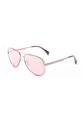 Unisex Full Rim Aviator Sunglasses - 2195 C6 S