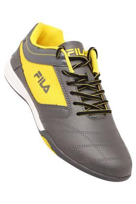 FILA Mens Leather Lace Up Sports Shoes - 204029598_9204
