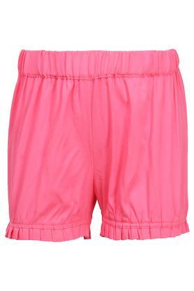 Girls Round Neck Embellished Top and Shorts Set