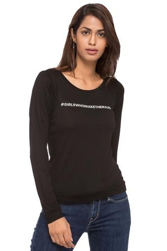 Women Relaxistan Girls Who Make The Rules Rheson Sweat Shirt Body Tee