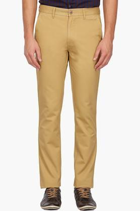 LOUIS PHILIPPE SPORTSMens 4 Pocket Solid Chinos - 203032885