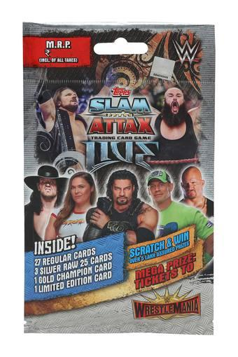 Unisex WWE Slam Attack Collection Trading and Game
