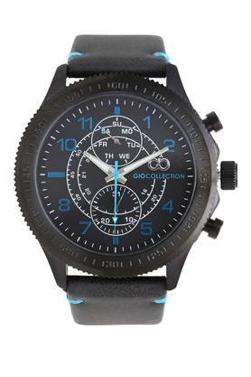 Mens Leather Chronograph Watch - G1041-02