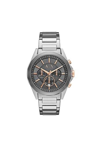 Mens Chronograph Stainless Steel Watch - AX2606