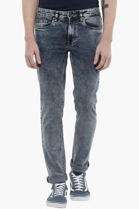 RS BY ROCKY STARMens 5 Pocket Stone Wash Jeans
