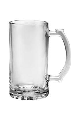Round Transparent Beer Mug