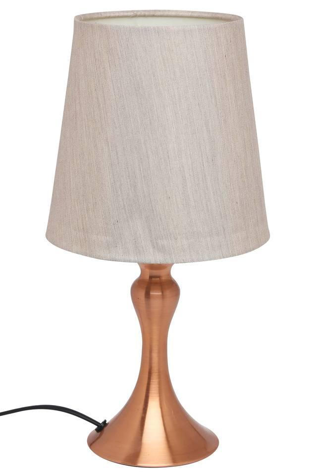 Round Slub Table Lamp
