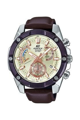 CASIOMens Gold Dial Chronograph Watch