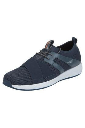 ATHLEISURE Mens Mesh Lace Up Sports Shoes - 203578118_9308