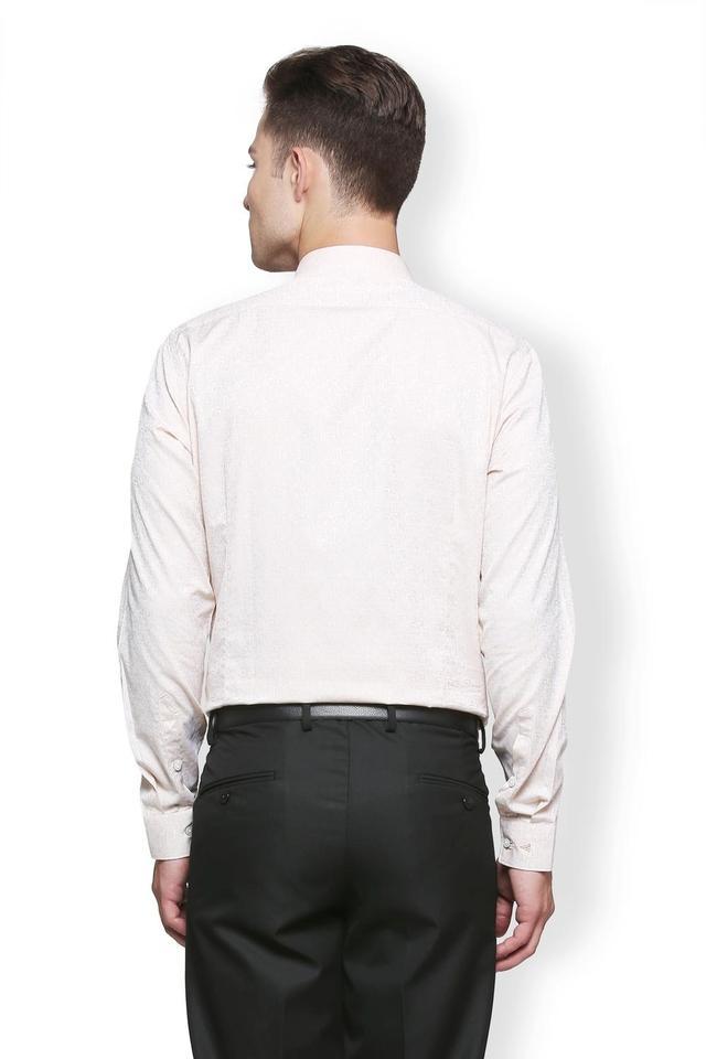 Mens Slim Fit Slim Collar Printed Shirt