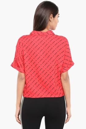 Womens Graphic Print Casual Shirt