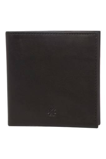 Unisex Leather 2 Fold Wallet