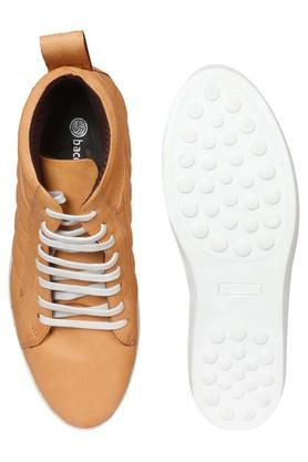 Mens PU Lace Up Casual Shoes