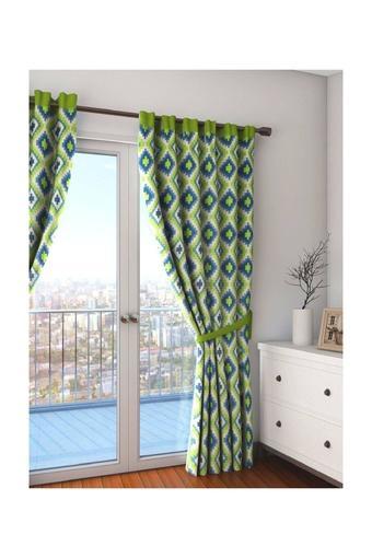 Geometrical Printed Door Curtain