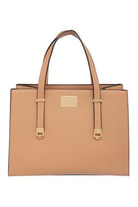 VAN HEUSENWomens Zipper Closure Satchel Handbag - 204472138_9124