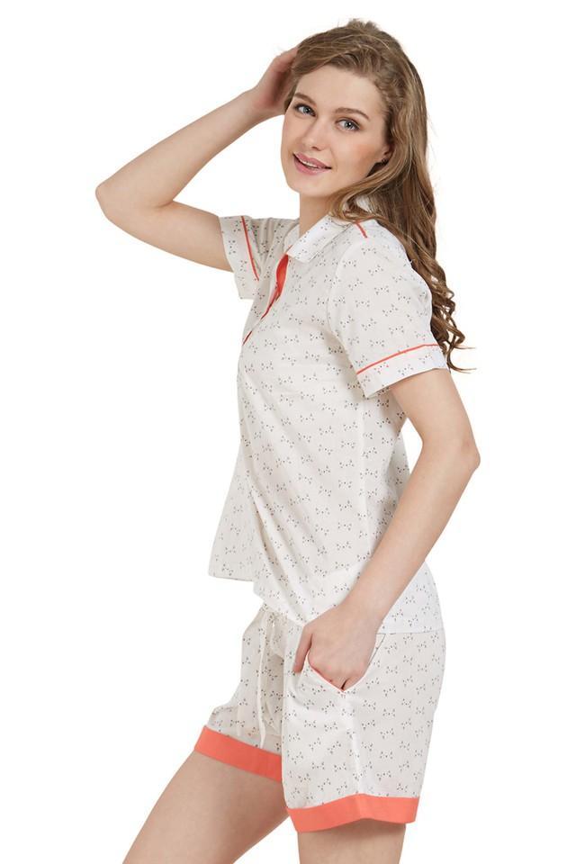 Womens Printed Top and Shorts