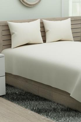 SPACESFlexi Fit Cotton King Fitted Sheet With 2 Pillow Covers