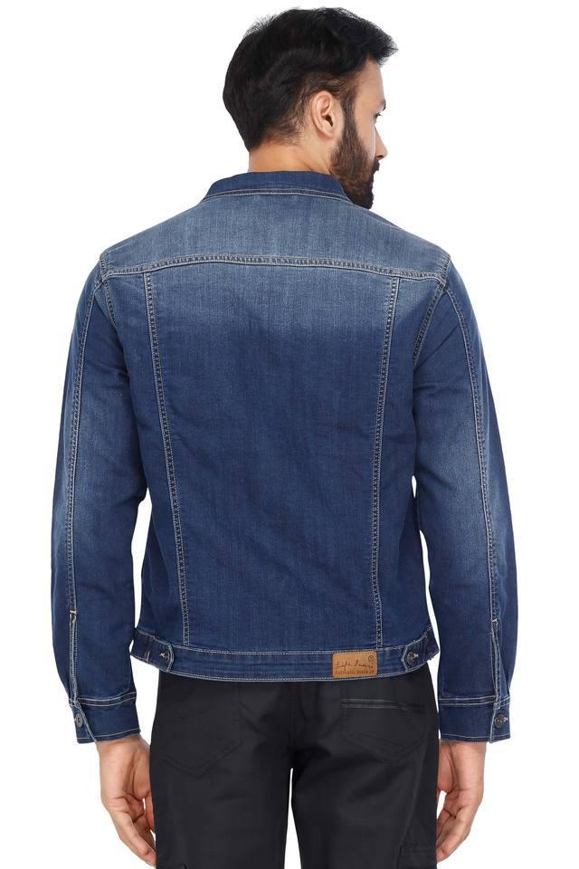 Mens 4 Pocket Washed Jacket