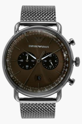 Mens Stainless Steel Chronograph Watch - AR11141I