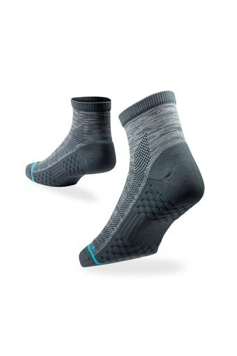 Unisex Printed Quarter Socks - Pack of 2