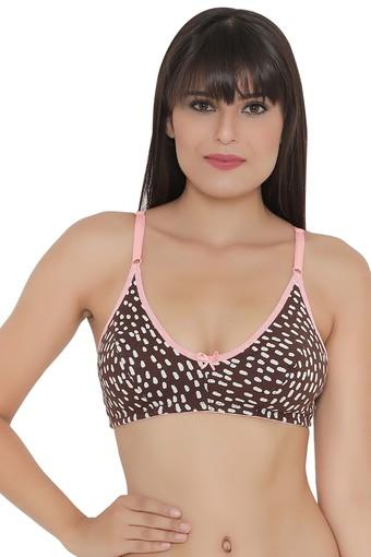 Womens Printed Non Wired Full Coverage Bra