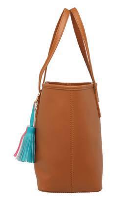 Womens Hook And Loop Closure Tote Handbag