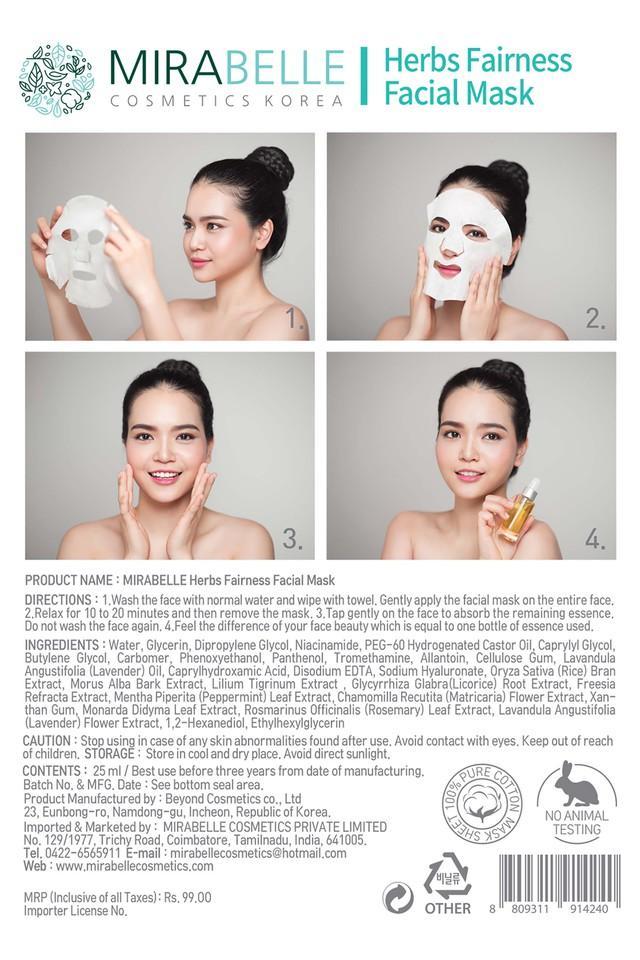 Herbs Fairness Facial Mask