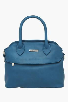 ELLIZA DONATEINWomens Zipper Closure Satchel Handbag - 203397181_9308