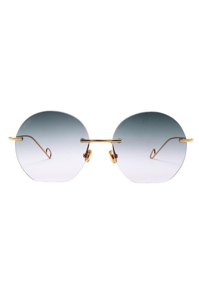 Womens Scarlett UV Protected Lens Round Sunglasses - SC029 C4