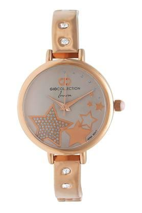 Womens Round Dial Analogue Watch - G2123-33