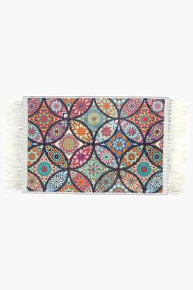 Rectangle Embroidered Floor Rug