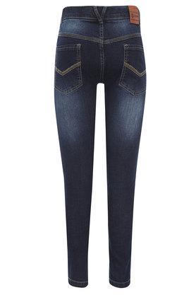 Boys 5 Pocket Heavy Wash Jeans