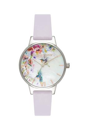 Womens Multi-Colour Dial Leather Analogue Watch - OB16PP50W