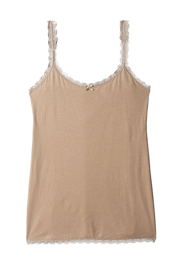 Womens Round Neck Solid Camisole
