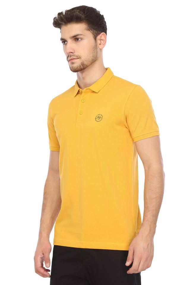 Mens Solid Polo T-Shirt