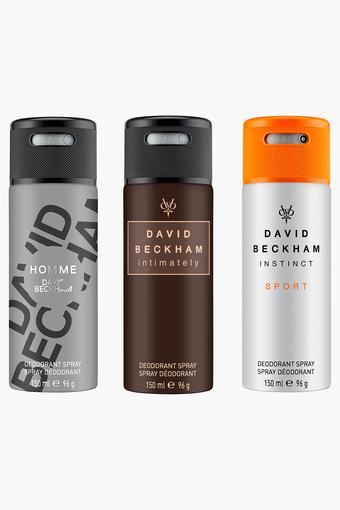 DAVID BECKHAM -  No ColourDeodorants - Main